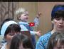 Little Girl Directs The Choir Like APro