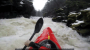 Kayaking Over 70ft Outlet Falls