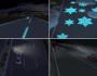 Futuristic highways in the Netherlands glow in thedark
