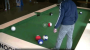 What happens if you mix pool and soccer?