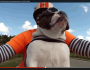 Sweets the English Bulldog see's a biker wave at us and she waves back ALL ON HER OWN!!!
