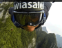 Daredevils Jump From 1,400m Mountain
