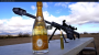 How To Uncork Cristal with a 50Cal