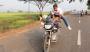 Motorbike Yoga: Man Pulls Yoga Poses On SpeedingBike