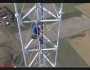 Man Climbing 1500 Foot TV Tower