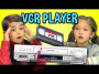 Kids React To VCR Player AndVHS