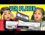 Kids React To VCR Player And VHS