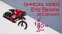 Eric Barone – 223,30 km/h – World mountain bike speed record