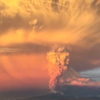 Erupting Volcano In Chile Looks Like The End Of The World