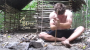 Man Builds A Primitive Hut Using Only Naturally Occurring Materials