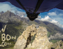 Wingsuit Flight Through 2 Meter Cave Is Intense