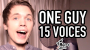 Watch This Swedish Guy Sings In 15 Voices Returns With More Spot On Impressions